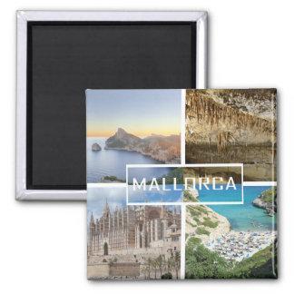 magnet mehrere Fotos der Insel von Mallorca