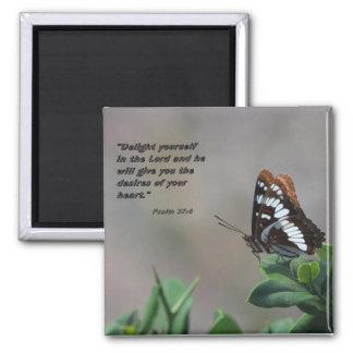 Magnet mit Schmetterling - erfreuen Sie sich in