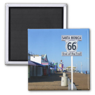 Magnet Santa Monica Weg-66!
