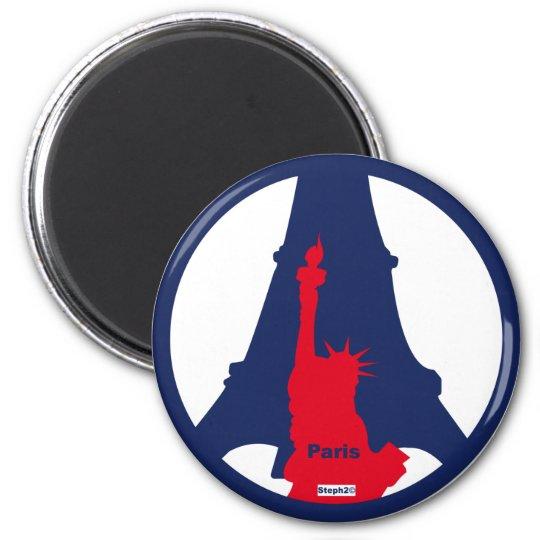 Magnet Tour Eiffel /Statut der ©steph2freiheit