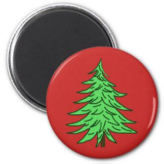 Magnet-Weihnachtsbaum Runder Magnet 5,7 Cm