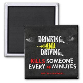 Magneten Anti-Trinken u. fahrend Quadratischer Magnet