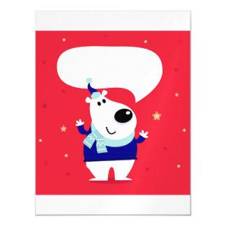 Magnetische Einladung: Teddybär Magnetische Karte