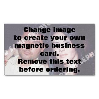 Magnetische Geschäftskarte des personalisierten Magnetische Visitenkarten