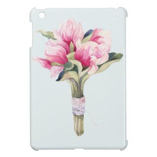 Magnolien-Blau-Blumenstrauß iPad Mini Hülle