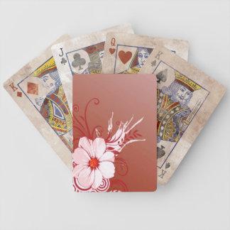 Magnolien-Blume Bicycle Spielkarten