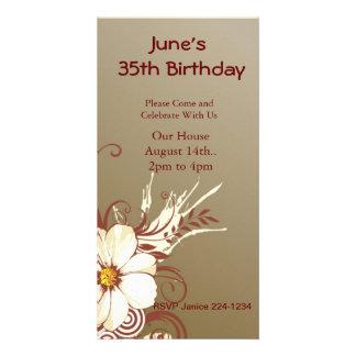 Magnolien-Rolle-Geburtstag Karte