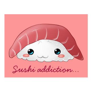 """""""Maguro Sushi"""" Postkarte"""