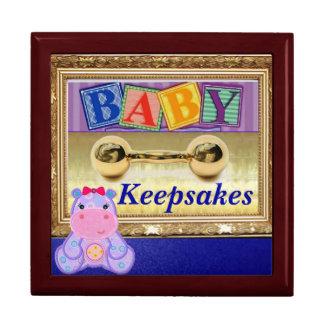 Mahagoniandenken-Kasten für Baby Erinnerungskiste