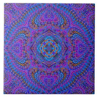 """Maharani"" Indisch-Ähnliche Mandala-Fliese Große Quadratische Fliese"