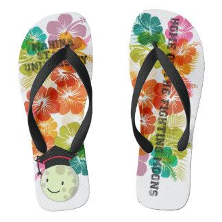 Mahina Staats-Gummi-Pantoffel Flip Flops