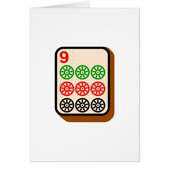 Mahjong Fliese Karte