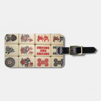 Mahjong Fliesen Gepäck Anhänger