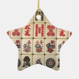 Mahjong Fliesen Keramik Ornament