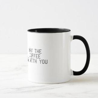 Mai ist der Kaffee mit Ihnen Tasse