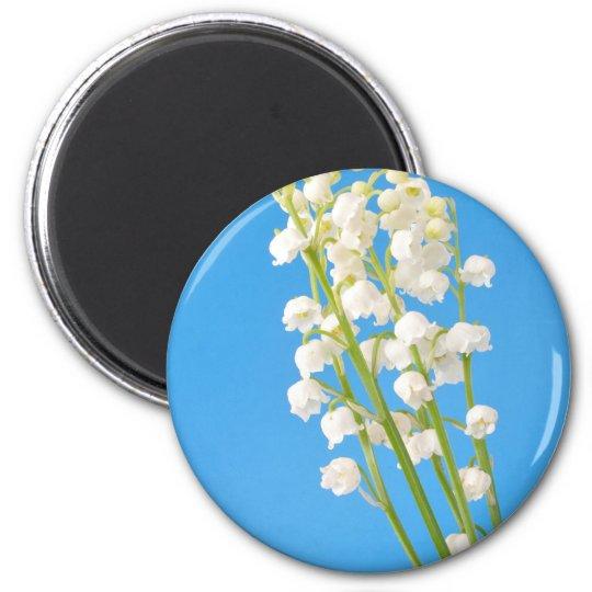 Maiglöckchen Runder Magnet 5,1 Cm