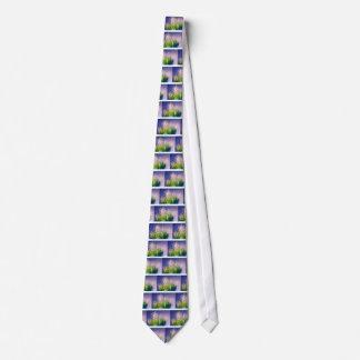 Maiglöckchen-Tanz im Blau Krawatte