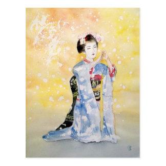 Maiko Mädchen -2 Postkarten
