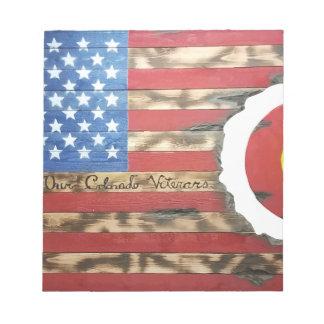 Main_Colorado_Veterans Notizblock