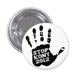 Main de Joseph Kony d'arrêt de Kony 2012 Badges Avec Agrafe