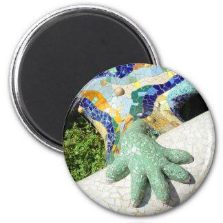 Main de mosaïque - aimant frais
