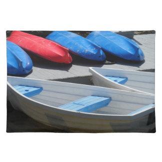Maine-Boote Tischset