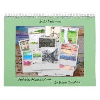 Maine-Kalender 2015 durch lokalen Künstler Kalender