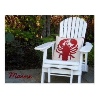 Maine-Sommer Postkarte