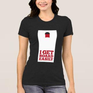 Mais-Loch, erhalte ich Brett leicht T-Shirt