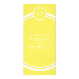 Mais-Spitzen personalisiert gefärbt Werbekarte