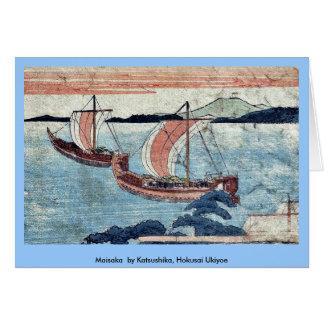 Maisaka durch Katsushika, Hokusai Ukiyoe Grußkarte