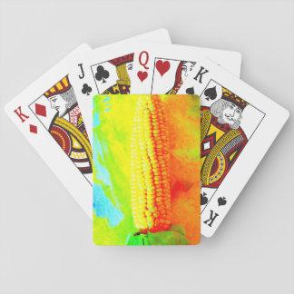 Maiskörner-Spielkarten Spielkarten