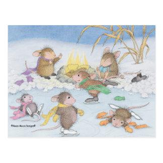 Maison-Souris Designs® - cartes postales de Noël