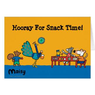 Maisy- und Freund-Vorschulimbiss-Zeit Karte