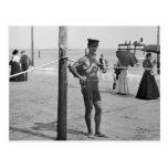 Maître nageur de plage de Brighton, les années 190 Cartes Postales