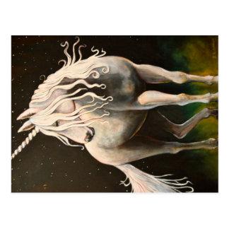 Majestät der Unicorn. Postkarte