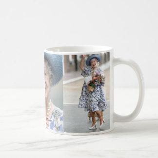 MAJESTÄT Königin Elizabeth, die Königin Mutter Kaffeetasse