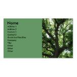 Majestätische Baum-Visitenkarte