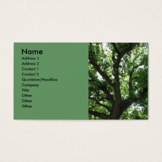 Majestätische Baum-Visitenkarte Visitenkarte