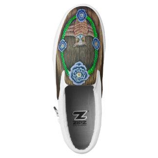 Majestätische Eule Beleg-auf Schuhen Slip-On Sneaker