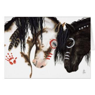 Majestätische Ureinwohner-Pferde durch BiHrLe Karte
