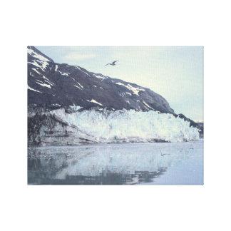 Majestätischer Gletscher KlimaAlaskanPhotography Gespannter Galerie Druck