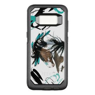 Majestätischer Pinto-Pferdezellen-Fall durch OtterBox Commuter Samsung Galaxy S8 Hülle