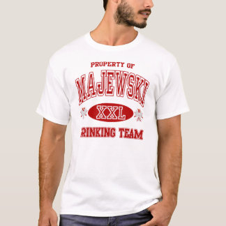 Majewski Polnisch-trinkendes Team T-Shirt