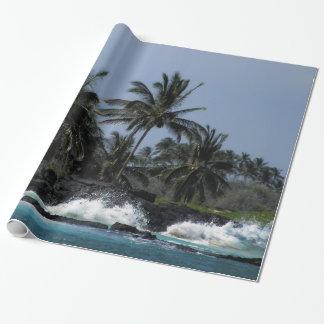 Makalawena Strand Einpackpapier