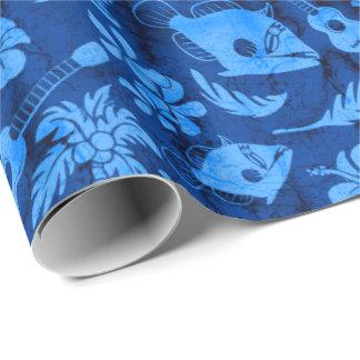 Makapuu Strand-hawaiisches Batik-Packpapier Geschenkpapier