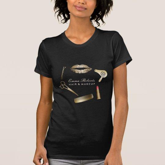 Make-upkünstler-Haar-Stylist-moderner T-Shirt