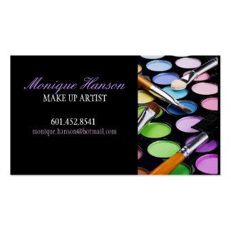 Make-upkünstler-Visitenkarte Visitenkarten