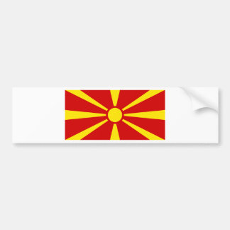 Makedonija zastava autoaufkleber