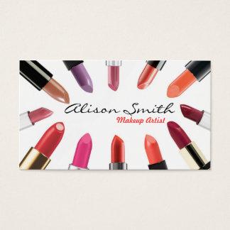 Makeup artist Business card Visitenkarte